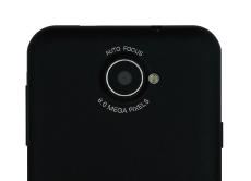 8メガ ピクセルカメラ搭載
