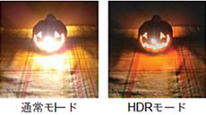 カメラHDRモード